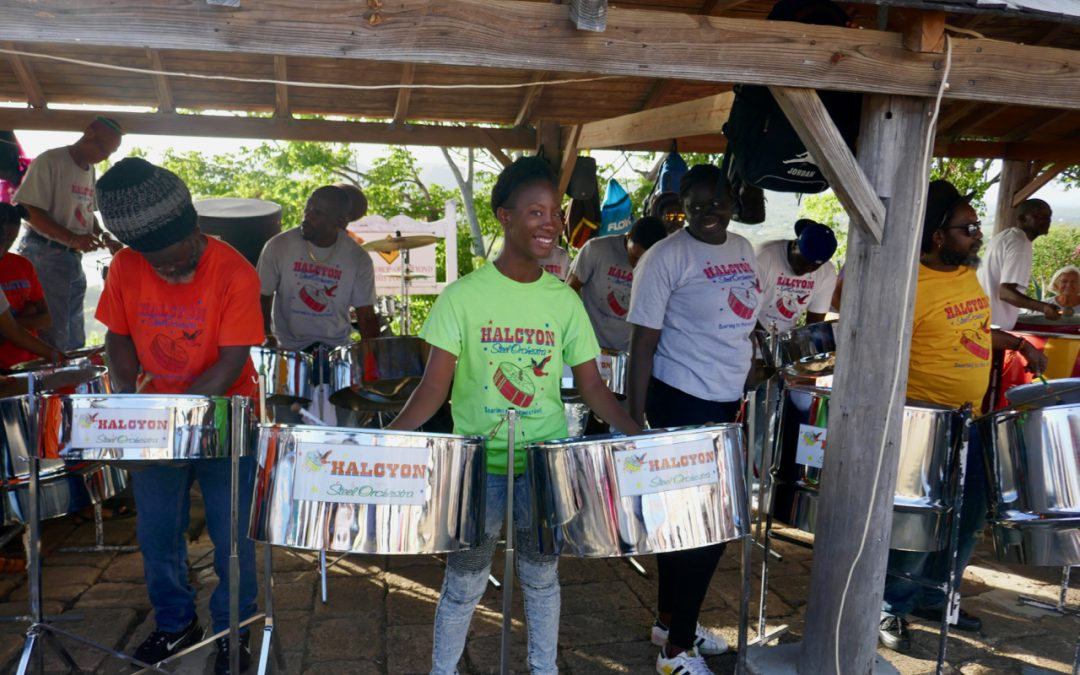 A Jolly Busy Time in Antigua's Jolly Harbour