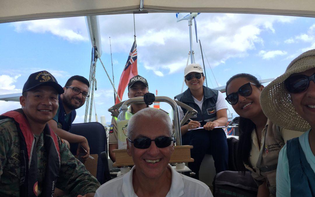 Las Perlas to the Galapagos